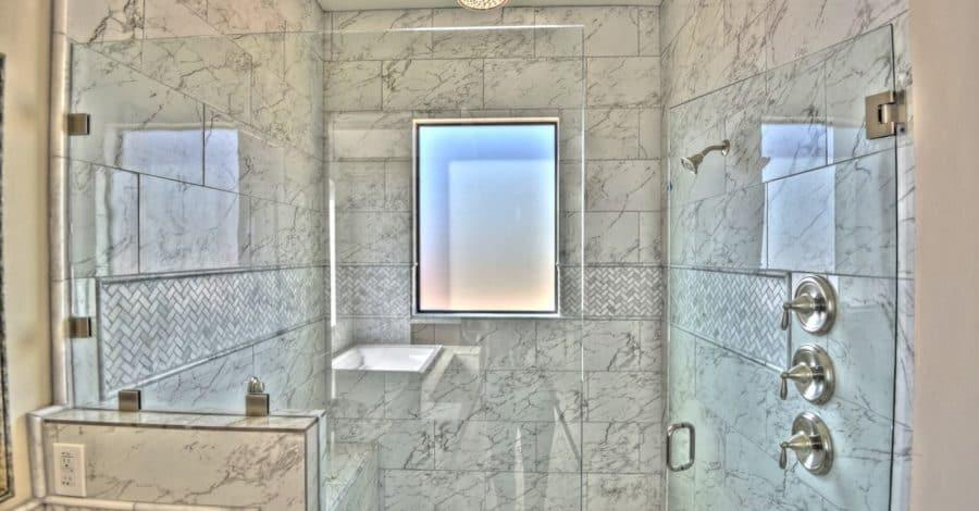 Master Bathroom Shower Bordeaux Builders Scottsdale