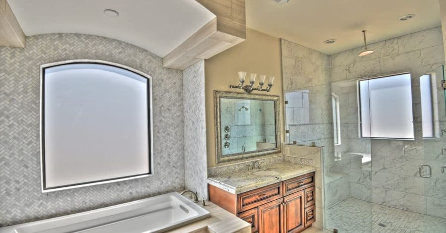 master bathroom bordeaux builders scottsdale