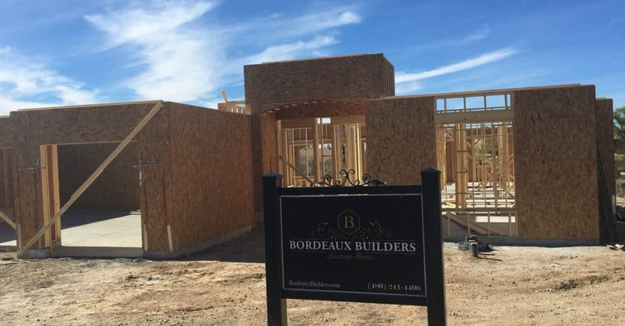 scottsdale home builder Bordeaux Builders