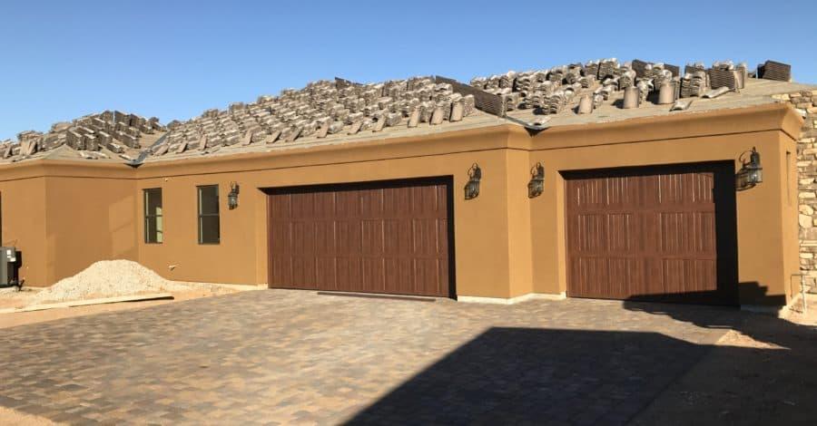 carriage style garage doors bordeaux builders scottsdale