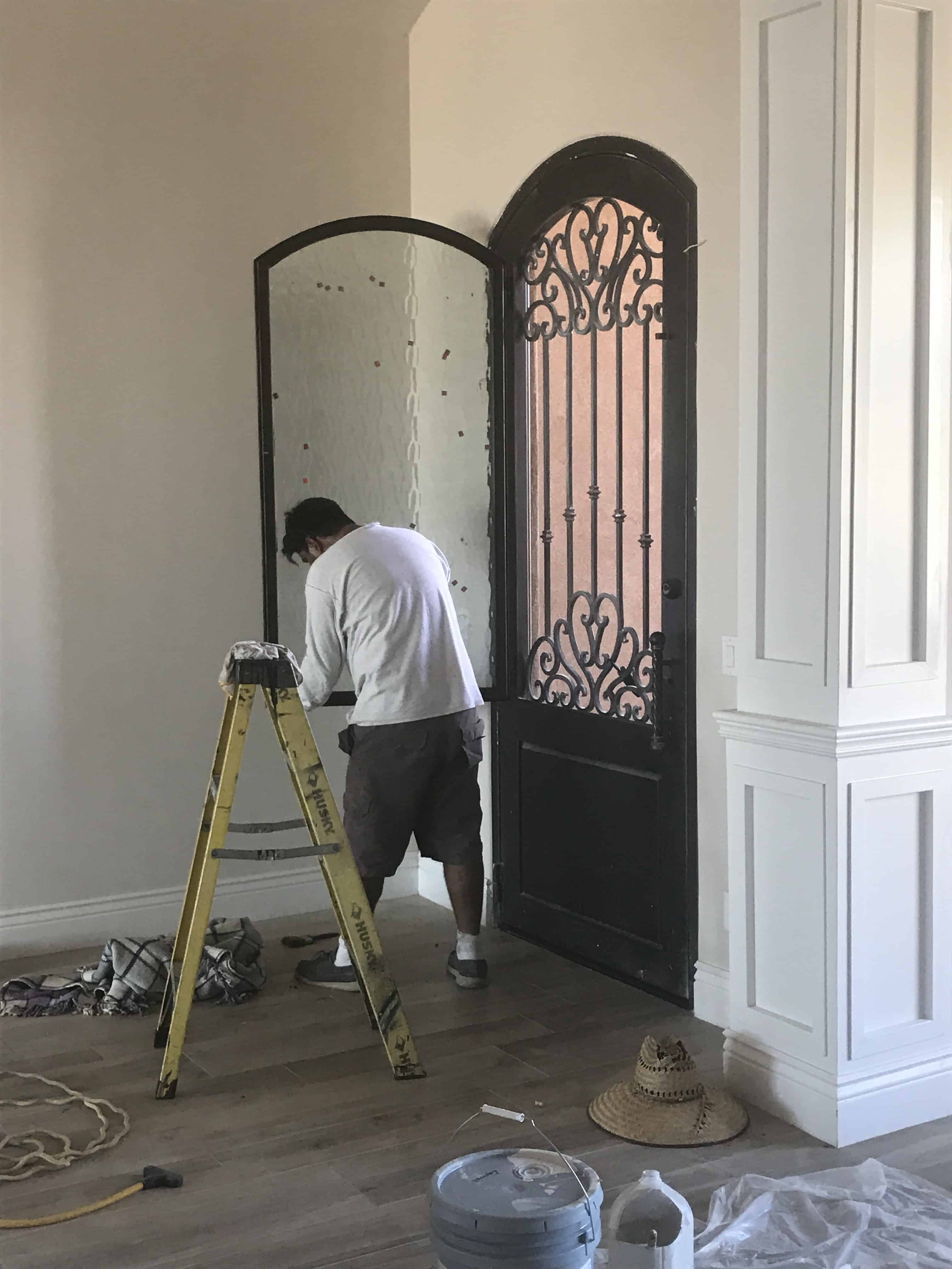 custom front door bordeaux builders scottsdale