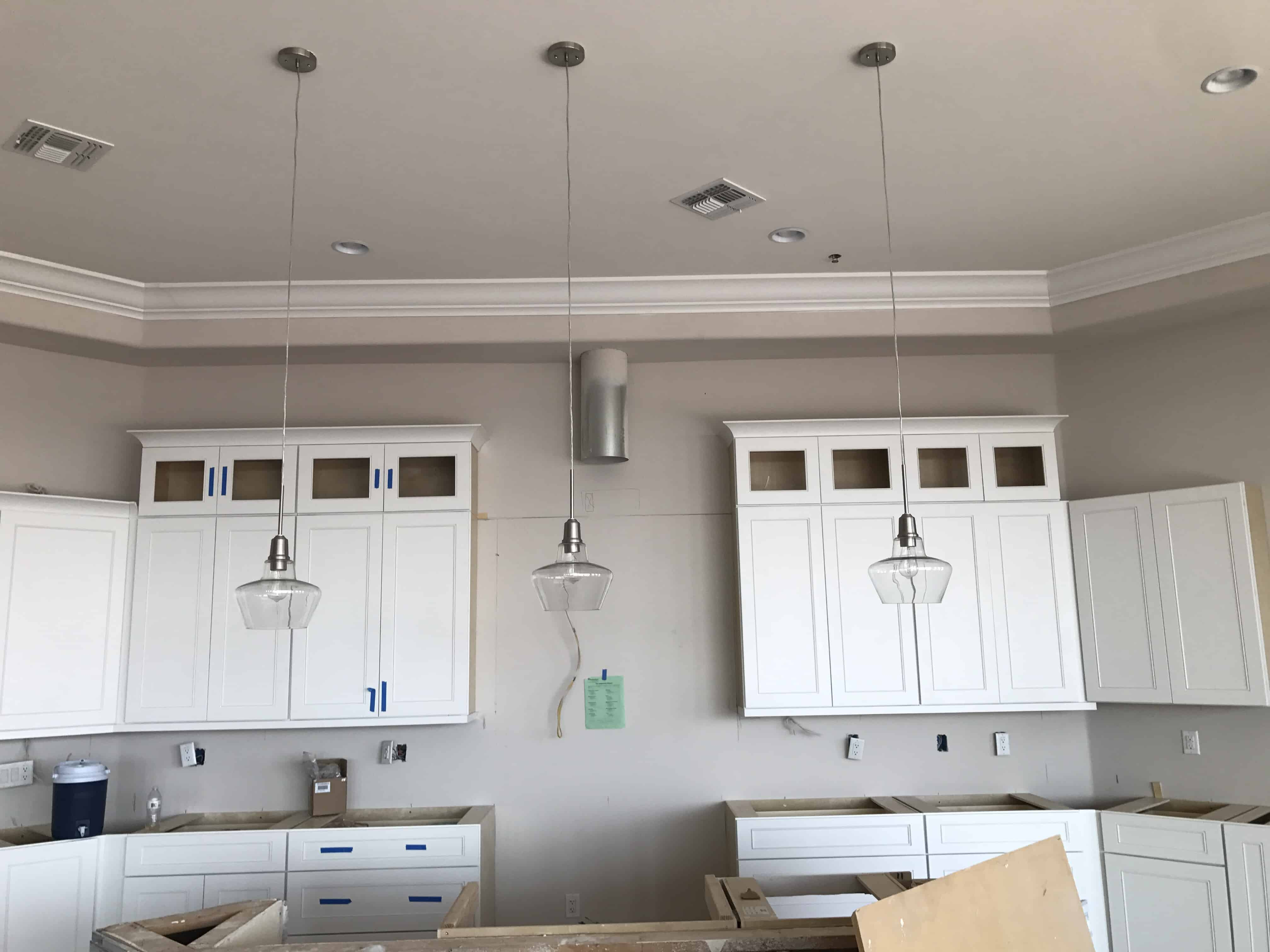 What Is The Correct Height For A Kitchen Island Chandelier