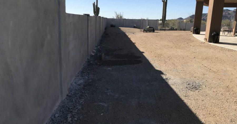 concrete block wall bordeaux builders scottsdale