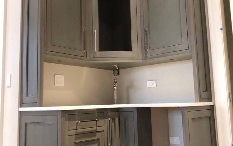 custom cabinets bar bordeaux builders scottsdale
