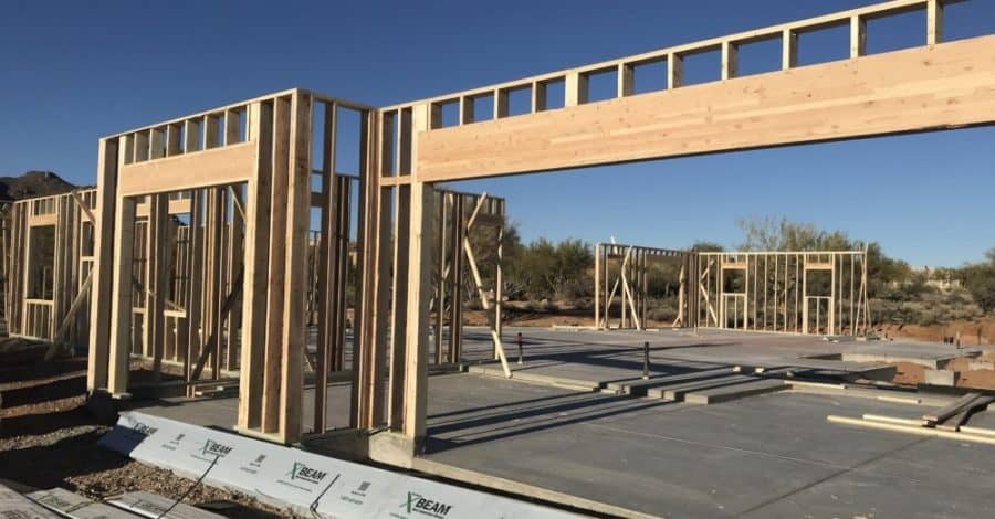 cave creek home framing bordeaux builders