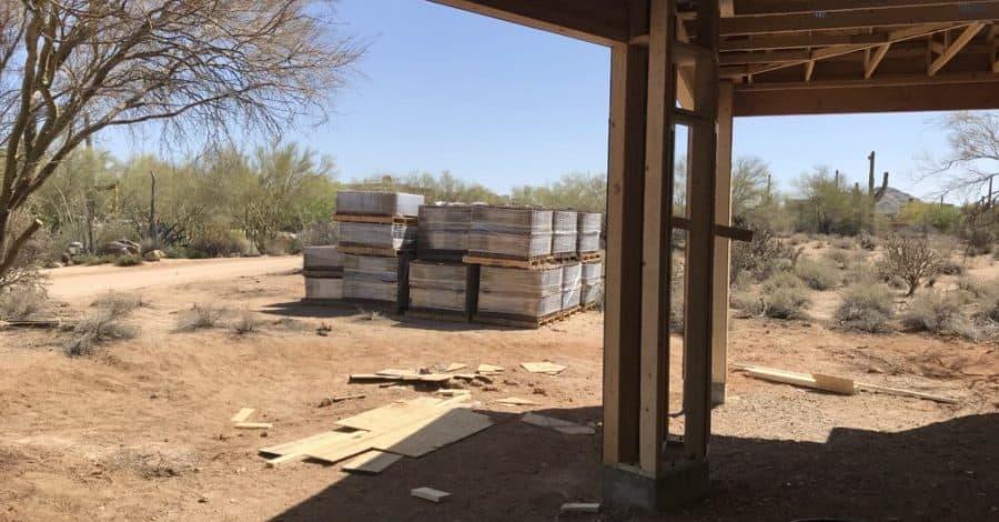 roof tiles custom home bordeaux builders
