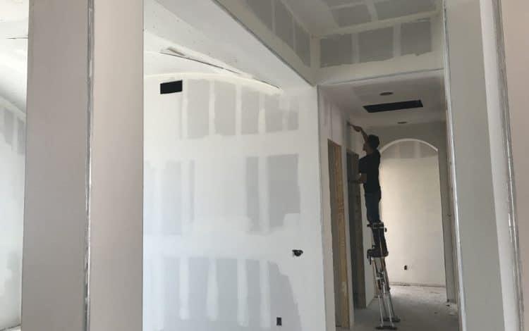 drywall texture bordeaux builders