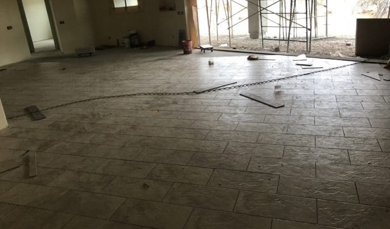 marble look floor tile bordeaux builders