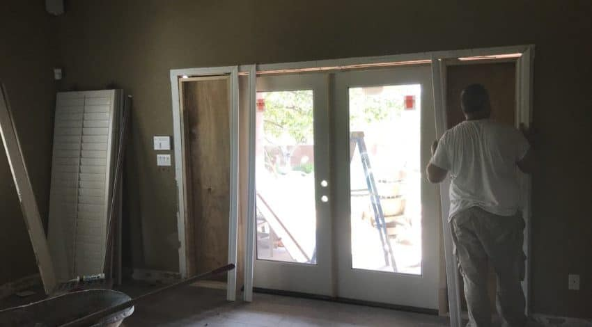 french door scottsdale renovation bordeaux builders