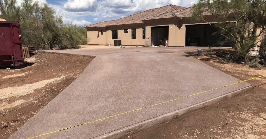 custom home driveway bordeaux builders