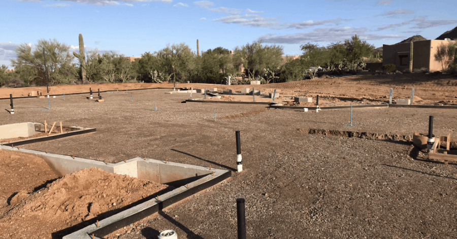 cave creek custom home pre slab bordeaux builders