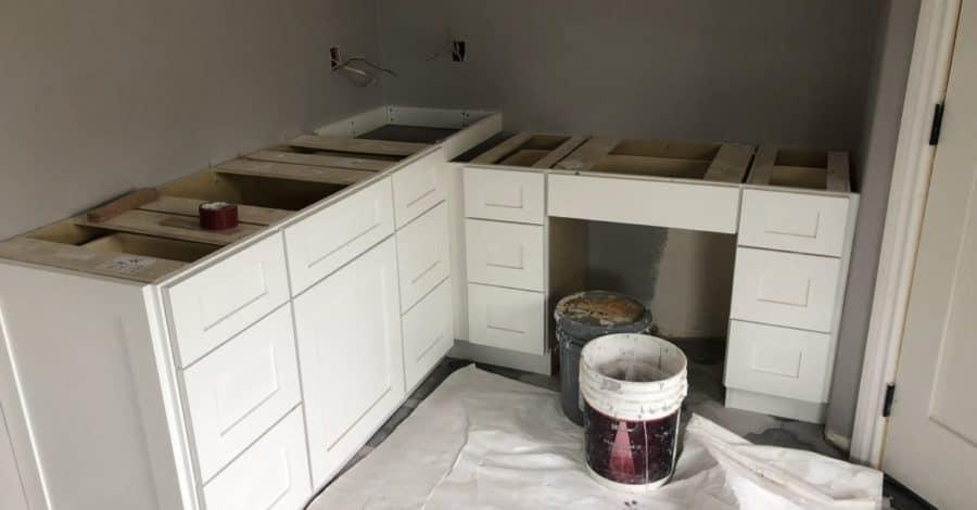 master bathroom makeup vanity bordeaux builders