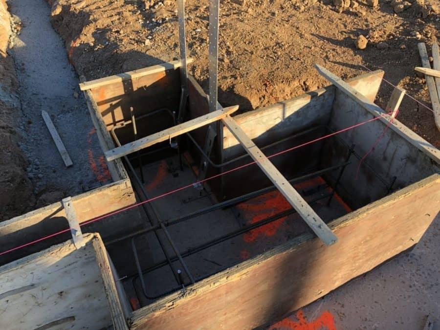 walls rebar scottsdale custom home bordeaux builders