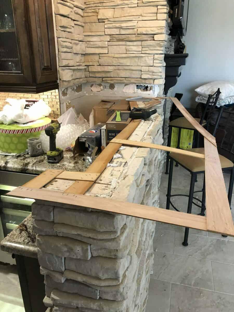 cave creek bar remodel bordeaux builders