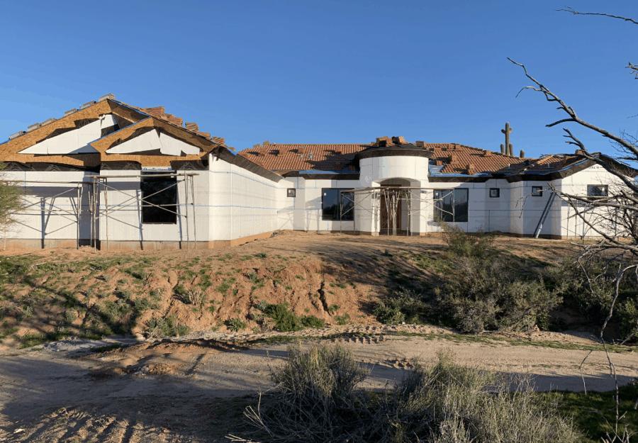 cave creek custom home bordeaux builders