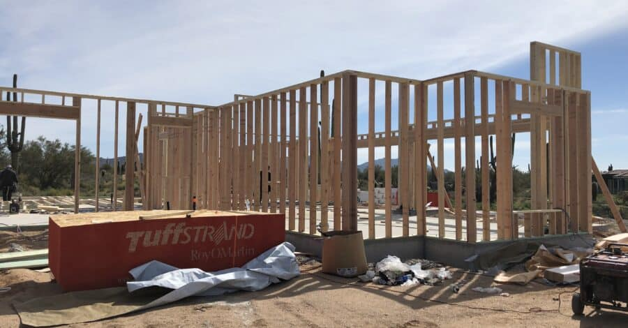framing-scottsdale-custom-home-bordeaux-builders