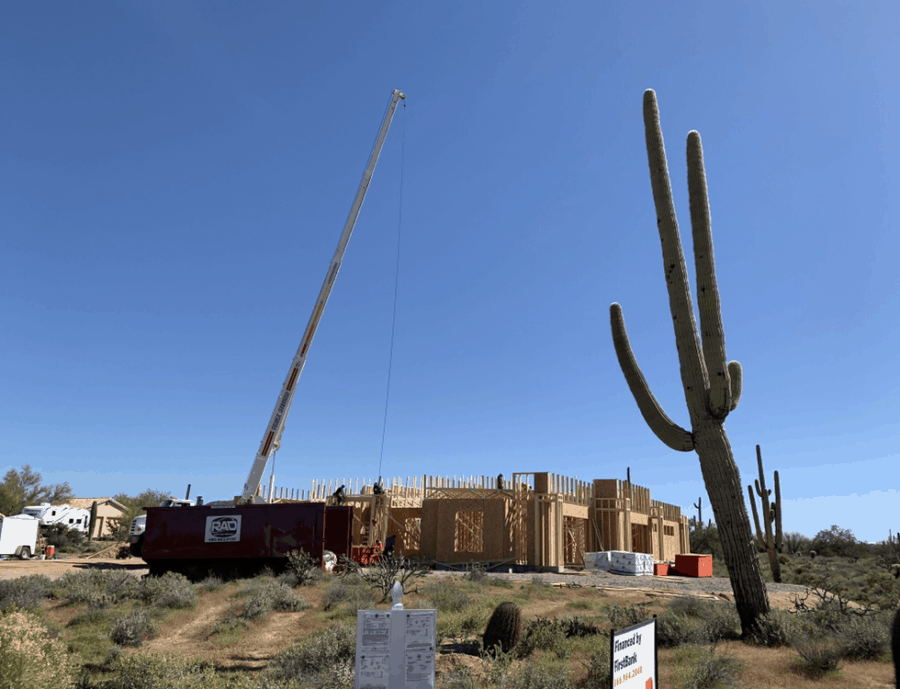 roof trusses bordeaux builders scottsdale