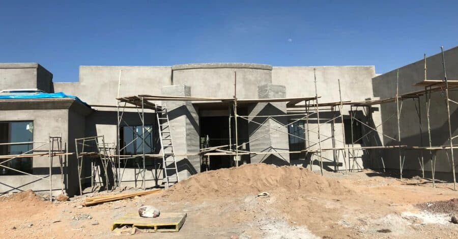 Scottsdale brown coat bordeaux builders