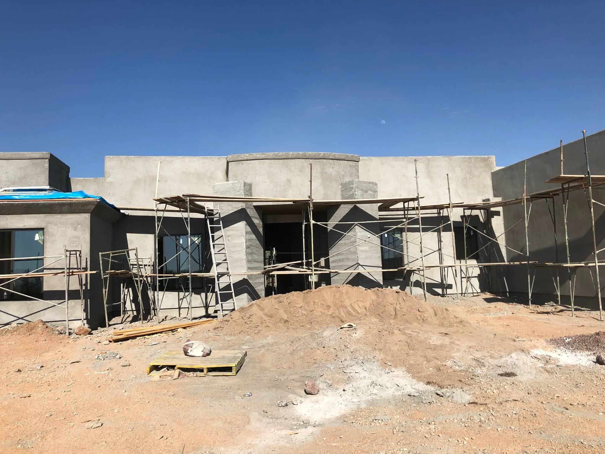 Scottsdale brown coat bordeaux builders