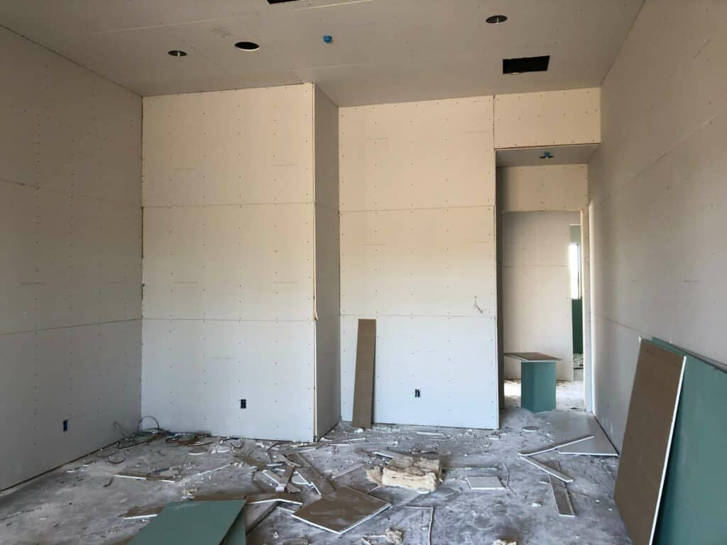 drywall scottsdale custom home