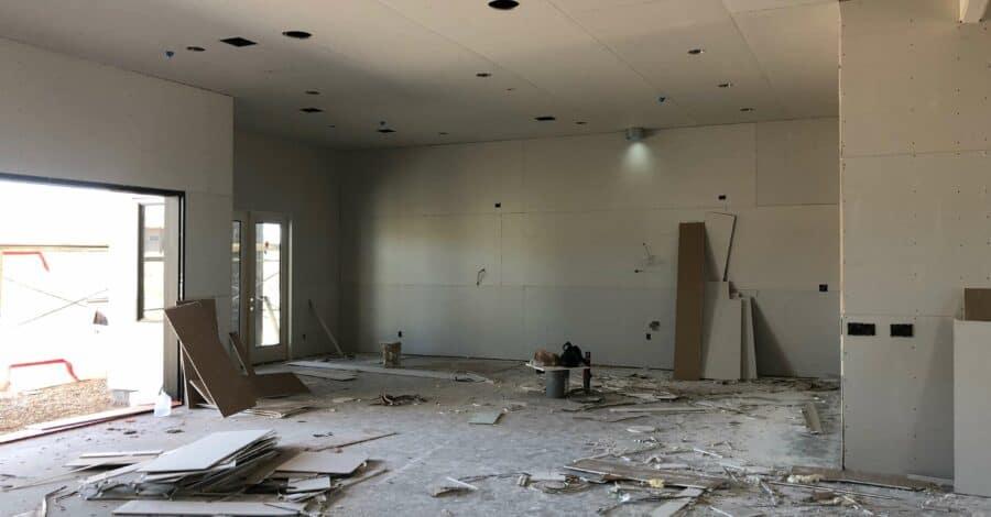 scottsdale custom home drywall