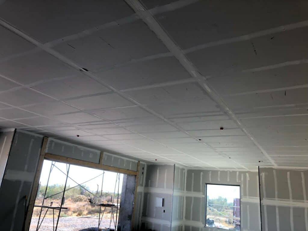 scottsdale new home drywall