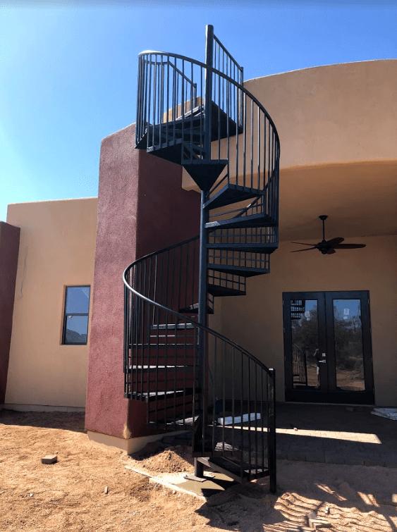 sprial staircase bordeaux builders