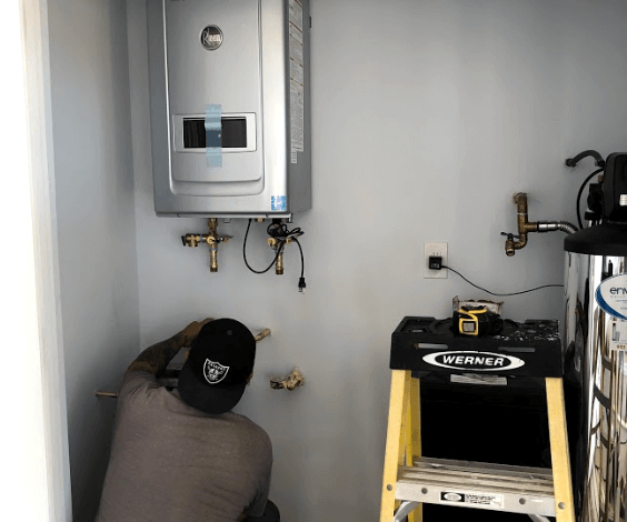 tankless hot water heater bordeaux builders
