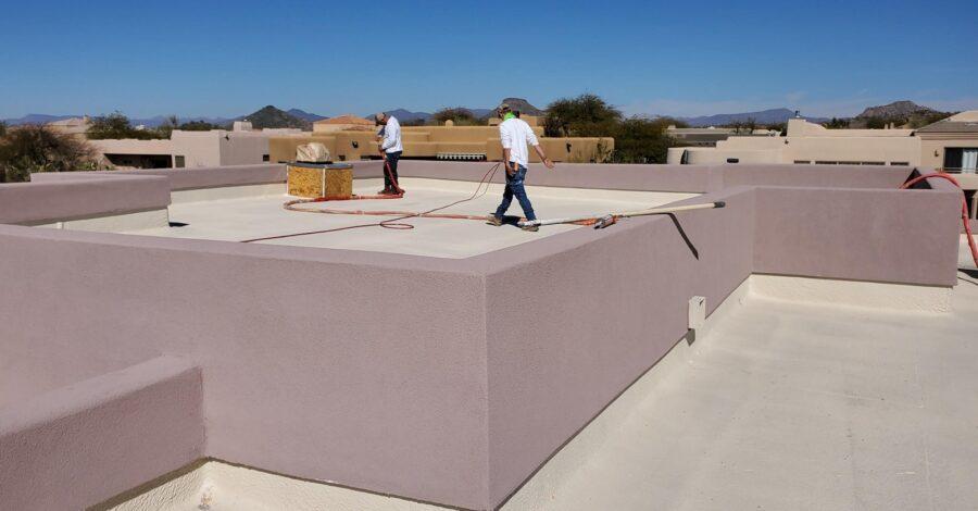 foam roofing bordeaux builders