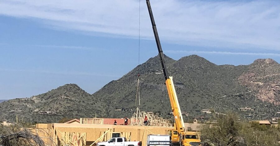 Grande Vista roof trusses Cave Creek