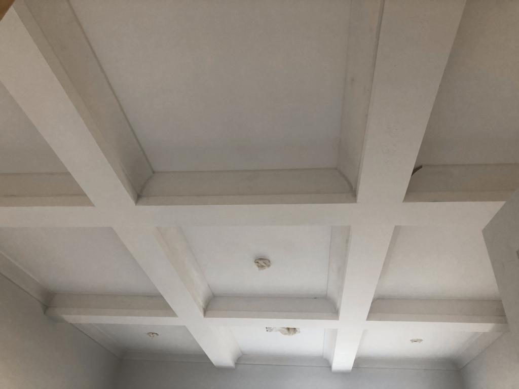 Bella Luna Office Study ceiling bordeaux builders
