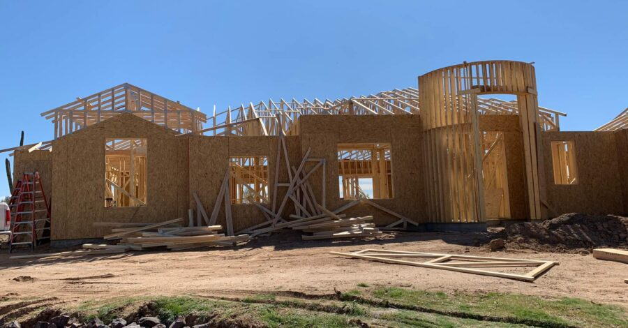 Grande Vista home sheeting bordeaux builders