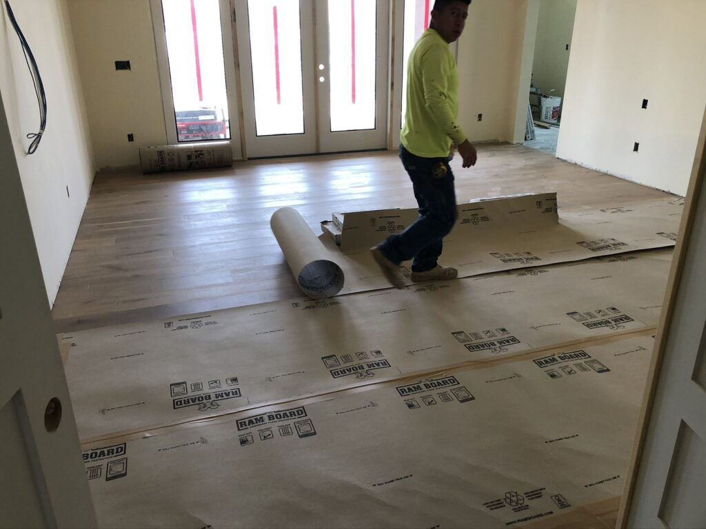 Protecting Troon Flooring Bordeaux Builders
