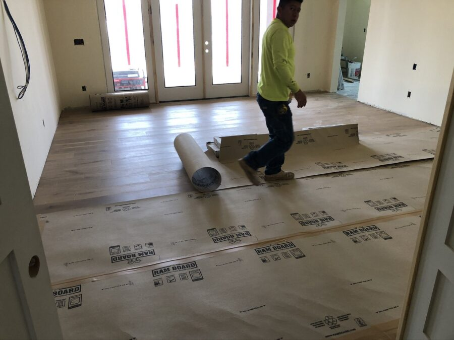 Protecting Troon Flooring Bordeaux Builders